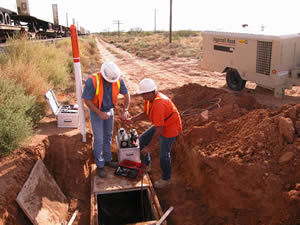 2004 MCI over build El Paso to Tucson, Arizona Micro Duct & Micro Fiber placement.